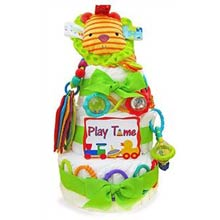 Playtime for Baby Diaper Cake