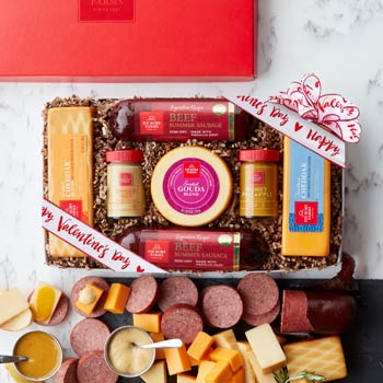 Hickory Farms Valentines Day Gift Box