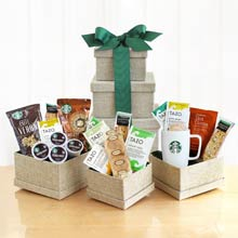 Coffee Lovers Gift Tower