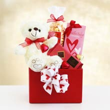 Happy Valentines Day Gift Basket