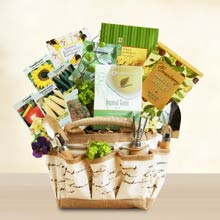 Gardening Gift Basket Ideas heirloom garden gift basket Gardening Gift Tote For Her