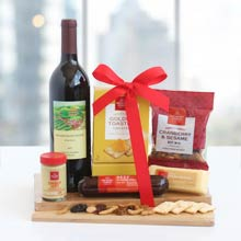 Wine & Cutting Board Gift