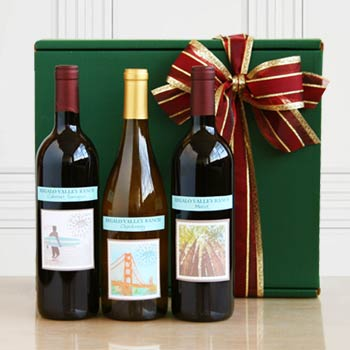 Regalo Valley Ranch Wine Gift Box