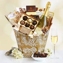 Executive Gourmet Wine Basket