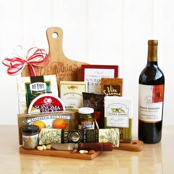 Wine and Cheeseboard Gift