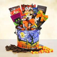 Ultimate Halloween Candy Basket
