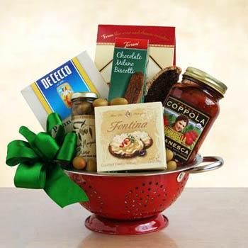 Italian Gift Baskets - Organic Italian Pasta Gift Basket