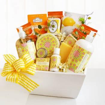Lemon Verbena Spa Basket