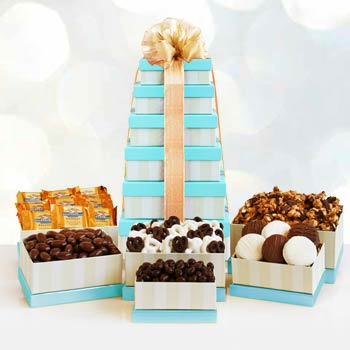Chocolate Snack Gift Tower