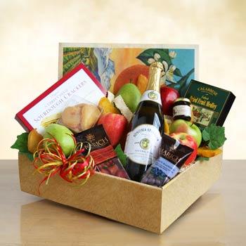 Sonoma Sparkler Gourmet Gift Box