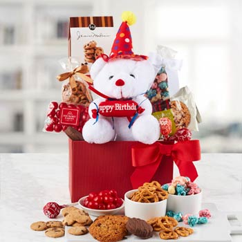Birthday Party Gift Basket