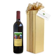 Regalo Valley Red Wine Gift Box