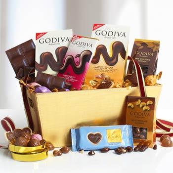 Godiva Gourmet Chocolate Basket