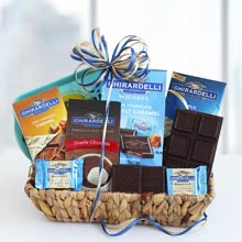 Ghirardelli Assortment Gift Basket
