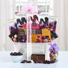 Godiva Gift Basket for Her