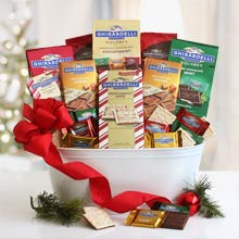 Ghirardelli Holiday Gift Basket