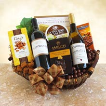 Business Wine Basket