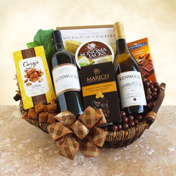 Business Wine Basket