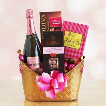 Commit adult basket chocolate erotic gift commit