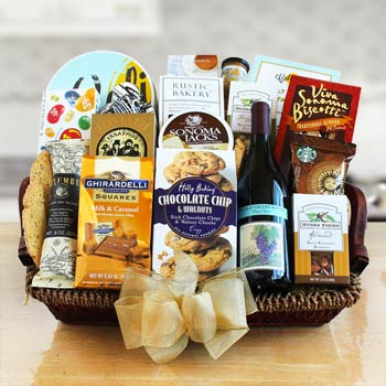 World of Thanks Wine Basket