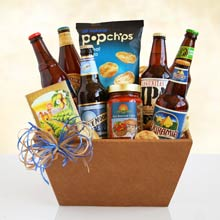 Fathers Day Beer Basket