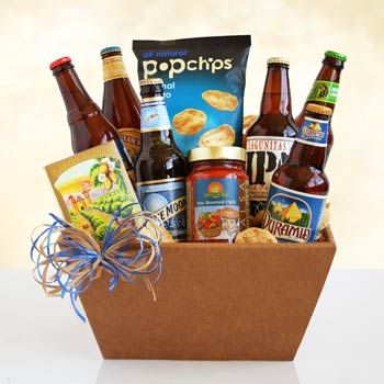 Father's Day Beer Basket