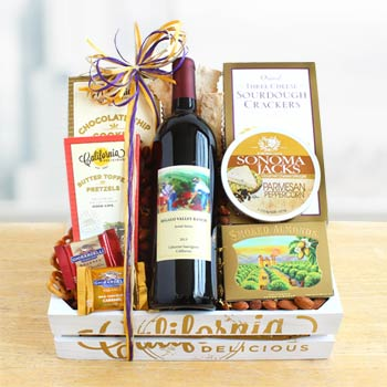 California Wine Gift Basket