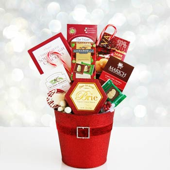 Christmas Celebration Gift Basket
