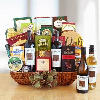 Executive Wine Basket