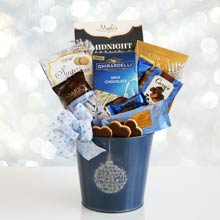 Holiday Wishes Gift Basket
