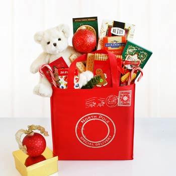 Festive Christmas Basket