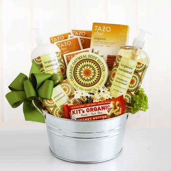 Organic Spa Basket