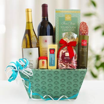 California Wine Gift Basket