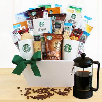 Starbucks® Executive Basket - One Size