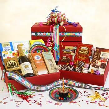 Birthday Party Gift Box