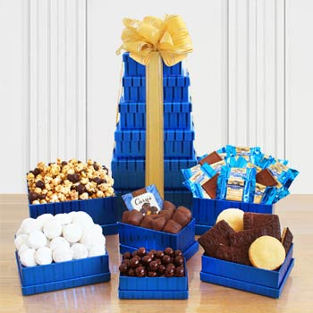 Kosher Chocolate Gift Tower