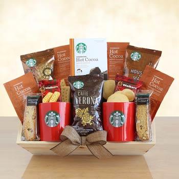 Starbucks® Delight Gift Basket
