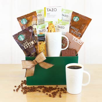 Starbucks Coffee Assortment Basket