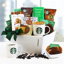 Starbucks Assortment Basket for Mom