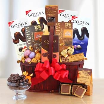 Ultimate Godiva Chocolate Gift Basket