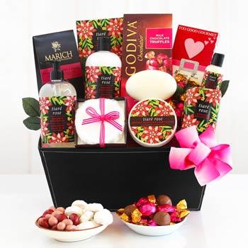 Spa Pleasures Gift Basket