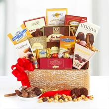 Corporate Chocolate Gift Basket