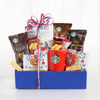Starbucks® Coffee Connoisseur Basket