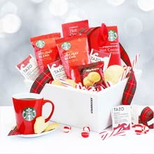 Starbucks® Christmas Basket