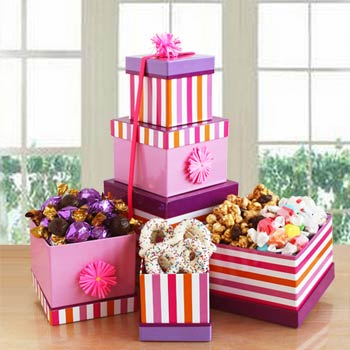 Chocolate Delight Gift Tower