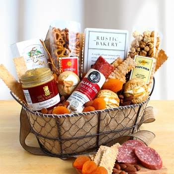 Business Snack Gift Basket