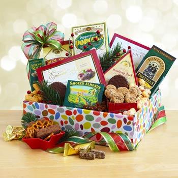 Christmas Snack Gift Box