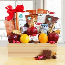 Starbucks Java and Fruit Gift Basket