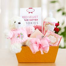 Mothers Day Treat Gift Basket