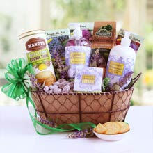 Lavender Gift Basket for Her